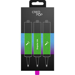CreoPop Regular Ink 3-Pack (Green)