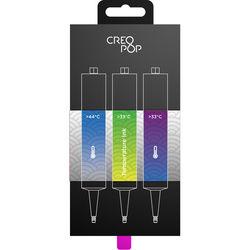 CreoPop Temperature Sensitive Ink 3-Pack (Blue, Bright Green, Purple)