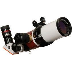 "Lunt Solar Systems 60mm f/8.3 Hydrogen-Alpha Single Etalon Refractor Solar Telescope (2"" Crayford Focuser, 12mm Blocking, Pressure Tuned)"