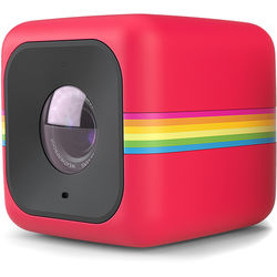 Polaroid CUBE+ Lifestyle Action Camera (Red)