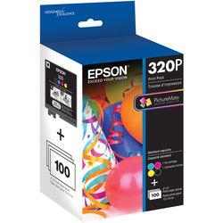 Epson 320 Standard-Capacity Color Ink Cartridge Print Pack
