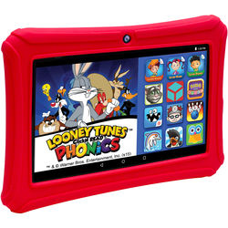 """ClickN Kids 7"""" Epik Learning Tab 16GB Multi-Touch Tablet (Wi-Fi, Red)"""