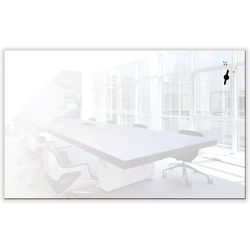 "Balt Luxe Glass 78"" Magnetic Whiteboard with Corning Gorilla Glass"
