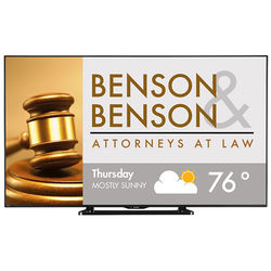 "Sharp AQUOS HD Series LC70LE661U 70"" Edge-Lit LED Smart TV"