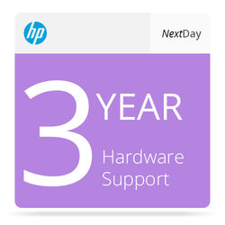 HP Next Business Day On-Site Hardware Support with Defective Media Retention for Select Laptops and Workstations (3-Year)