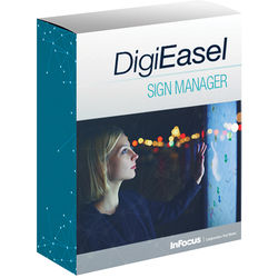 InFocus DigiEasel Sign Manager Interactive Sign Management Software
