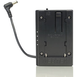 Nebtek Sony L 12V DV Battery Plate with 2.5mm Right Angle Connector