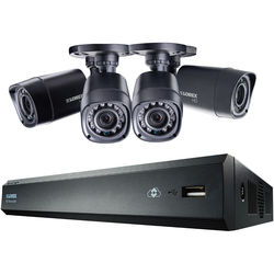 Lorex by FLIR 4-Channel 720P HD Network 500GB DVR With 4 720P Cameras