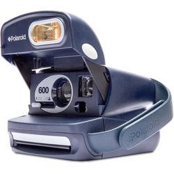 Impossible Polaroid 600 Round Instant Camera (Blue)