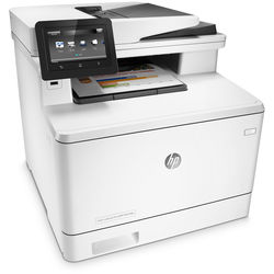 HP Color LaserJet Pro M477fdn All-in-One Laser Printer