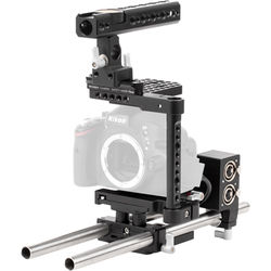 Wooden Camera Advanced Accessory Kit for Nikon D5300 Camera