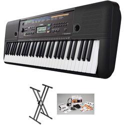Yamaha PSR-E253 Portable Keyboard Value Bundle