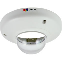 ACTi ACR70150001 Dome Cover Housing with Transparent Cover for Select Dome Cameras