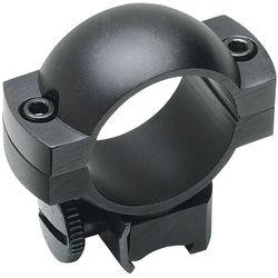 """Weaver Simmons Weaver Mount Ring Pair (1"""", Aluminum, High, Gloss Black)"""