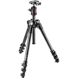 Manfrotto BeFree Compact Travel Carbon Fiber Tripod (Black)