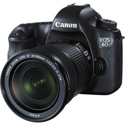 Canon EOS 6D DSLR Camera with 24-105mm f/3.5-5.6 STM Lens