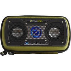 GOAL ZERO Rock Out 2 Solar Rechargeable Portable Speaker (Green)