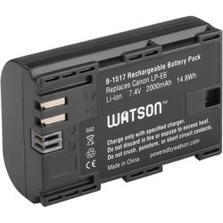 Watson LP-E6 Lithium-Ion Battery Pack (7.4V, 2000mAh)