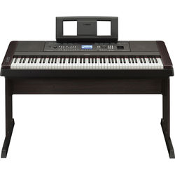 Yamaha DGX-650 Portable Grand Digital Piano (Black)