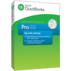 Intuit QuickBooks Pro 2016 (1-User, Boxed)