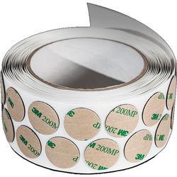 Rycote Lavalier Adhesive Stickies (500 Roll)