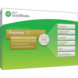 Intuit QuickBooks Premier 2016 (1-User, Boxed)