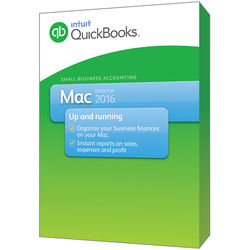 Intuit QuickBooks 2016 for Mac (1-User, Download)