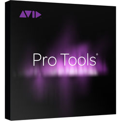 Avid Pro Tools - Audio and Music Creation Software (Academic Institution Perpetual License)