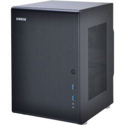 Lian Li PC-Q33B Mini Tower Desktop Case (Black)