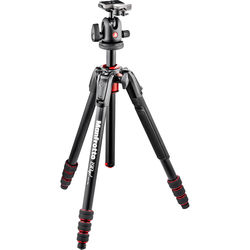 Manfrotto 190Go! Aluminum Tripod Kit with Ball Head