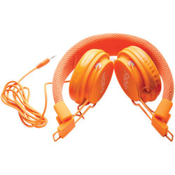 Isabella Products Fable Sound On-Ear Children's Headphones (Orange)