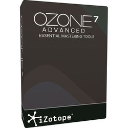 iZotope Ozone 7 Advanced - Mastering Software (Download)