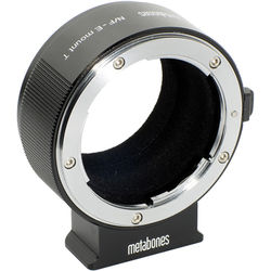 Metabones Nikon F Lens to Sony E-Mount Camera T Adapter II (Black)