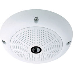 MOBOTIX Hemispheric Q25 6MP Day Dome Camera with 1.6mm Fisheye Lens (White)