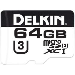 Delkin Devices 64GB microSDXC 660X UHS-I U3 Memory Card (Class 10)