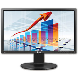 """LG 22MB35PY-I 22"""" LED Back-Lit Monitor with Built-In Speakers and DVI-D/USB/Display Port Inputs"""