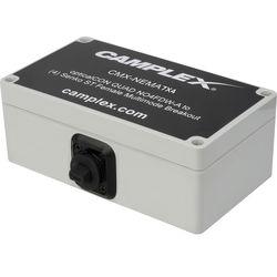 Camplex NO4FDW-A OpticalCon QUAD to 4 NO2-4FDW-A OpticalCon DUO Singlemode Breakout Adapter Box