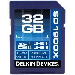 Delkin Devices 32GB UHS-II SDHC Memory Card (U3)