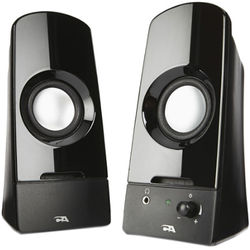 Cyber Acoustics CA-2050 Curve.Sonic 2-Piece Powered Speaker System