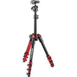 Manfrotto BeFree One Aluminum Tripod (Red)