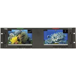 """Wohler RM-3270WS-3G Dual 3G/HD/SD-SDI Video Monitor (7"""")"""