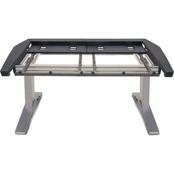 Argosy Eclipse Small Console Workspace for Yamaha Nuage Workstation with Blank Panel 1 Master/1 Fader (Black Trim)