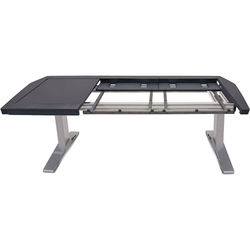 Argosy Eclipse Large Console Workspace for Yamaha Nuage Workstation with Left Desk Surface and 1 Master/2 Faders (Black Trim)