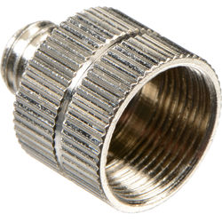 "WindTech M-1 5/8""-27 Female to 3/8""-16 Male Thread Adapter for Microphone Mounts and Stands"