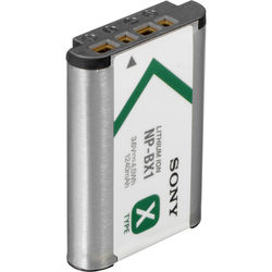 Sony NP-BX1/M8 Rechargeable Lithium-Ion Battery Pack (3.6V, 1240mAh, Bulk Packaging)