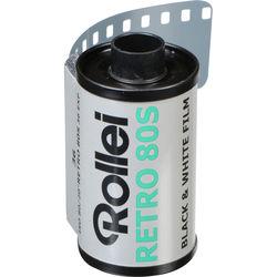 Rollei Retro 80S Black and White Negative Film (35mm Roll Film, 36 Exposures)