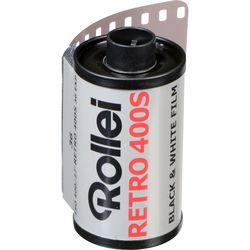 Rollei Retro 400S Black and White Negative Film (35mm Roll Film, 36 Exposures)