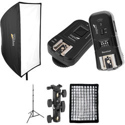 Impact Parabox Softbox Speedlight Solution Kit for Canon Cameras