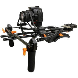 Opteka FFR-900 Motorized Remote Follow Focus & Zoom Controller with Shoulder Support Rig