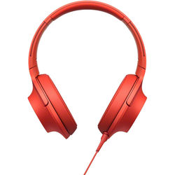 Sony h.ear on High-Resolution Audio Headphones (Cinnabar Red)